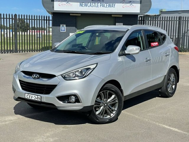 Used Hyundai ix35 LM3 MY15 SE Newcastle, 2015 Hyundai ix35 LM3 MY15 SE Silver 6 Speed Sports Automatic Wagon
