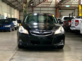 2012 Subaru Liberty B5 MY12 2.5i Lineartronic AWD Black 6 Speed Constant Variable Sedan.