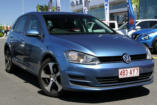 Used Volkswagen Golf VII MY14 90TSI DSG Aspley, 2014 Volkswagen Golf VII MY14 90TSI DSG Blue 7 Speed Sports Automatic Dual Clutch Hatchback