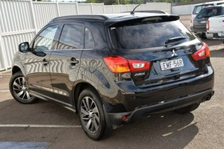 2014 Mitsubishi ASX XB MY15 XLS 2WD Black 6 Speed Constant Variable Wagon