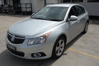 2014 Holden Cruze JH Series II MY14 Equipe Silver 5 Speed Manual Sedan.