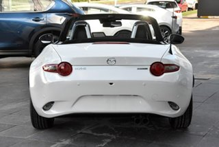 2021 Mazda MX-5 ND GT SKYACTIV-Drive White 6 Speed Sports Automatic Roadster.