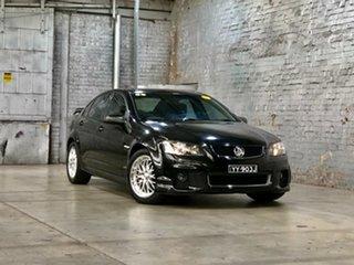 2012 Holden Commodore VE II MY12 SV6 Black 6 Speed Manual Sedan.