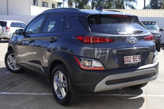 2020 Hyundai Kona Os.v4 MY21 2WD Dark Knight & Black Roof 8 Speed Constant Variable Wagon.