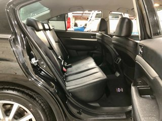 2012 Subaru Liberty B5 MY12 2.5i Lineartronic AWD Black 6 Speed Constant Variable Sedan