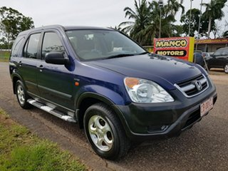 2003 Honda CR-V RD MY2003 Sport 4WD Blue 5 Speed Manual Wagon.