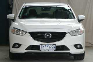 2017 Mazda 6 6C MY17 (gl) Sport Snowflake White 6 Speed Automatic Sedan
