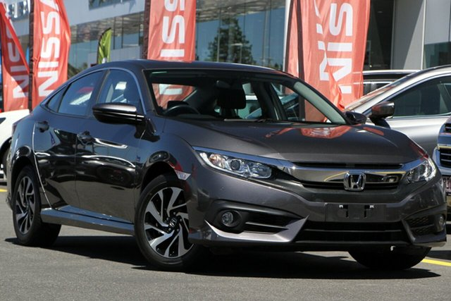 Used Honda Civic 10th Gen MY16 VTi-S Aspley, 2016 Honda Civic 10th Gen MY16 VTi-S Grey 1 Speed Constant Variable Sedan
