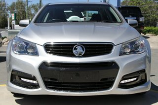 2015 Holden Commodore VF MY15 SV6 Silver 6 Speed Sports Automatic Sedan.