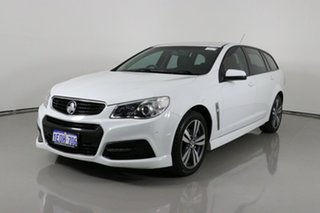 2015 Holden Commodore VF II SV6 White 6 Speed Automatic Sportswagon.