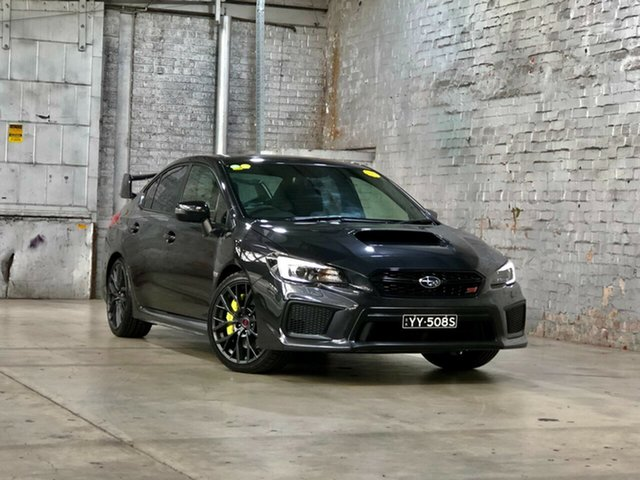 Used Subaru WRX V1 MY18 STI AWD spec.R Mile End South, 2017 Subaru WRX V1 MY18 STI AWD spec.R Grey 6 Speed Manual Sedan