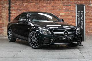 2021 Mercedes-Benz C-Class C205 801MY C43 AMG 9G-Tronic 4MATIC Obsidian Black 9 Speed.