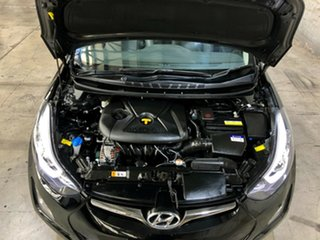2014 Hyundai Elantra MD3 Premium Black 6 Speed Sports Automatic Sedan