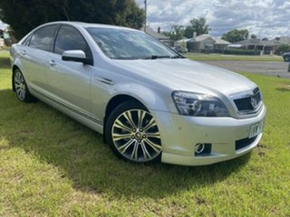2015 Holden Caprice WN MY15 V Silver 6 Speed Auto Active Sequential Sedan.