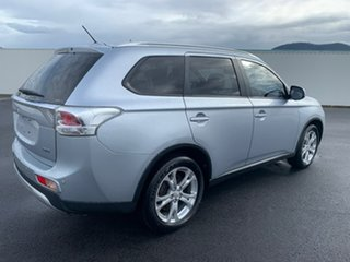 2014 Mitsubishi Outlander ZJ MY14.5 LS 4WD Silver 6 Speed Sports Automatic Wagon.