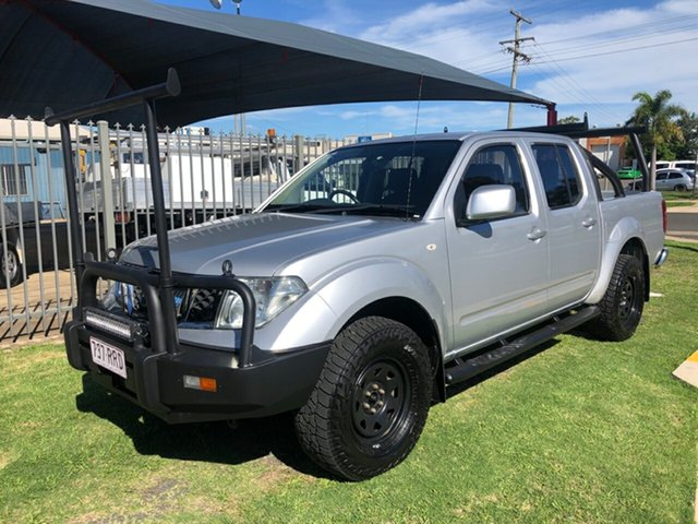 Used Nissan Navara D40 ST (4x4) Toowoomba, 2011 Nissan Navara D40 ST (4x4) Silver 6 Speed Manual Dual Cab Pick-up