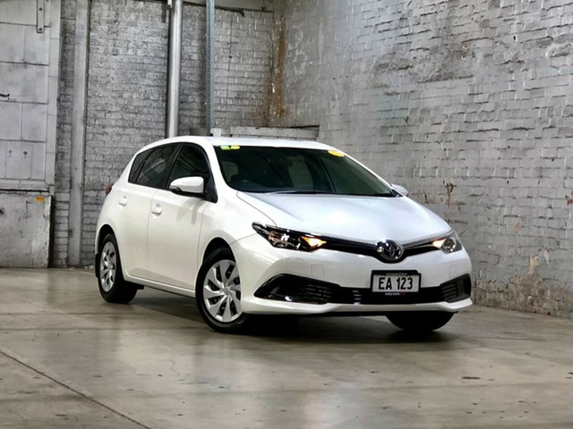 Used Toyota Corolla ZRE182R Ascent S-CVT Mile End South, 2018 Toyota Corolla ZRE182R Ascent S-CVT White 7 Speed Constant Variable Hatchback