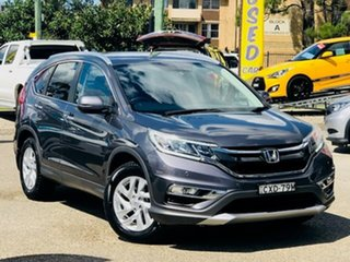 2014 Honda CR-V RM Series II MY16 VTi-S Grey 5 Speed Sports Automatic Wagon.