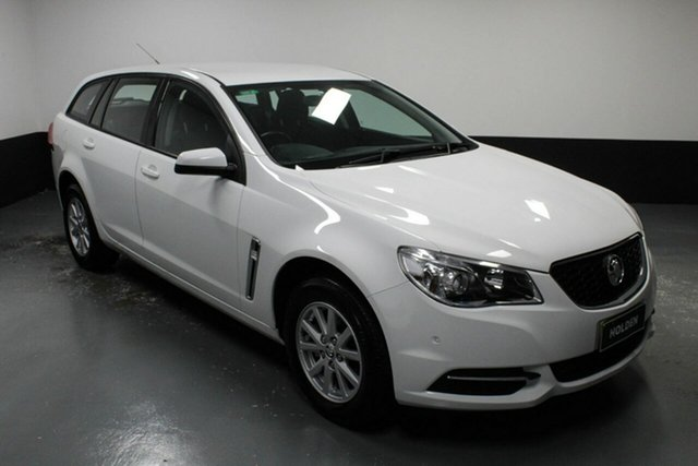 Used Holden Commodore VF II MY16 Evoke Sportwagon Hamilton, 2016 Holden Commodore VF II MY16 Evoke Sportwagon White 6 Speed Sports Automatic Wagon
