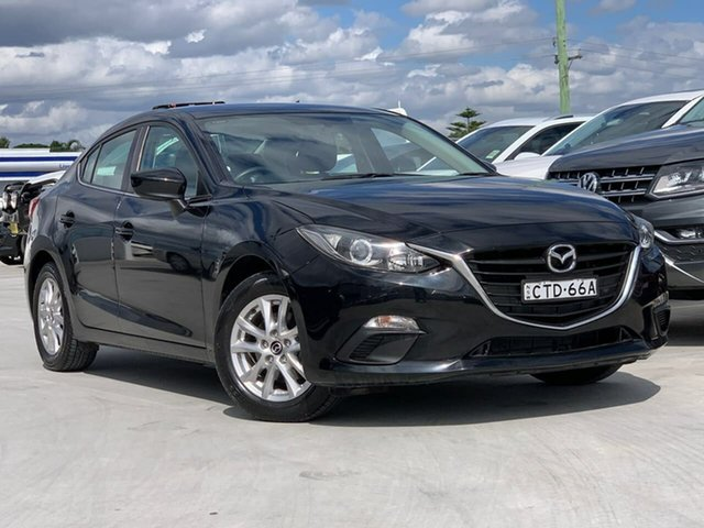Used Mazda 3 BM5278 Maxx SKYACTIV-Drive Liverpool, 2014 Mazda 3 BM5278 Maxx SKYACTIV-Drive Black 6 Speed Sports Automatic Sedan