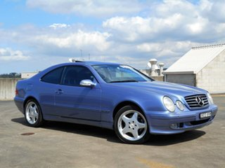 2001 Mercedes-Benz CLK-Class C208 CLK320 Avantgarde Blue 5 Speed Automatic Coupe.