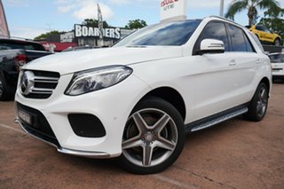 2015 Mercedes-Benz GLE350D 166 White 9 Speed Automatic Wagon.