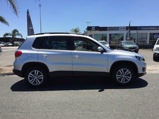 2012 Volkswagen Tiguan 5N 103TDI Silver Sports Automatic Dual Clutch SUV.