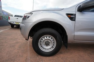 2012 Ford Ranger PX XL 2.2 Hi-Rider (4x2) Silver 6 Speed Automatic Crew Cab Pickup.
