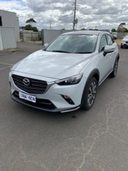 2019 Mazda CX-3 DK2W7A sTouring SKYACTIV-Drive FWD White 6 Speed Sports Automatic Wagon.