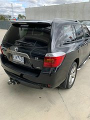 2010 Toyota Kluger GSU45R MY11 KX-S AWD Black 5 Speed Sports Automatic Wagon