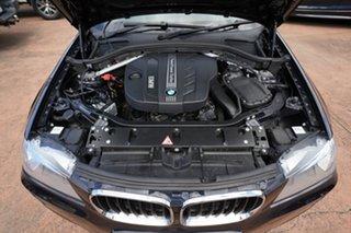 2013 BMW X3 F25 xDrive20d Black 8 Speed Automatic Wagon