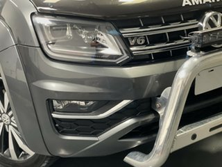 2019 Volkswagen Amarok 2H MY19 TDI580 4MOTION Perm Ultimate Indium Grey 8 Speed Automatic Utility.