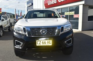 2017 Nissan Navara D23 S2 RX 4x2 White 6 Speed Manual Cab Chassis