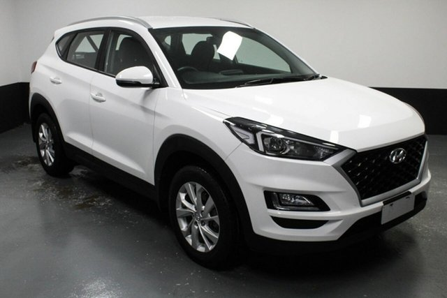 Used Hyundai Tucson TL4 MY20 Active 2WD Hamilton, 2019 Hyundai Tucson TL4 MY20 Active 2WD White 6 Speed Automatic Wagon