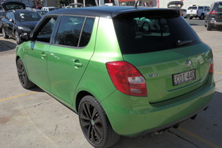 2013 Skoda Fabia 5JF MY13 RS DSG 132TSI Green 7 Speed Sports Automatic Dual Clutch Hatchback