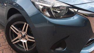 2014 Mazda 2 DJ2HAA Neo SKYACTIV-Drive Blue 6 Speed Sports Automatic Hatchback.