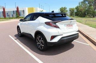 2018 Toyota C-HR NGX50R Koba S-CVT AWD Crystal Pearl & Black Roof 7 Speed Automatic Wagon