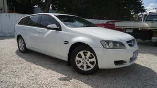 2009 Holden Commodore VE MY09.5 Omega Sportwagon White 4 Speed Automatic Wagon.