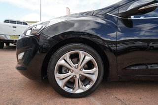 2013 Hyundai i30 GD Premium Black 6 Speed Automatic Hatchback.