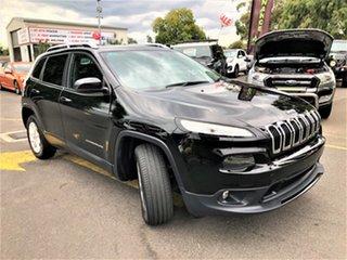 2017 Jeep Cherokee KL MY17 Longitude Black 9 Speed Sports Automatic Wagon.