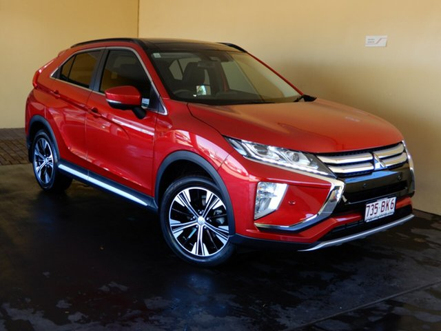 Used Mitsubishi Eclipse Cross YA Exceed (2WD) Toowoomba, 2017 Mitsubishi Eclipse Cross YA Exceed (2WD) Red Continuous Variable Wagon