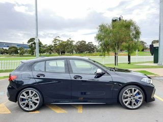 2020 BMW 1 Series F40 M135i Steptronic xDrive Black 8 Speed Sports Automatic Hatchback.