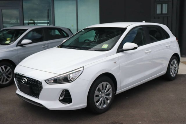 Used Hyundai i30 PD.3 MY20 Go Augustine Heights, 2019 Hyundai i30 PD.3 MY20 Go Polar White 6 Speed Sports Automatic Hatchback