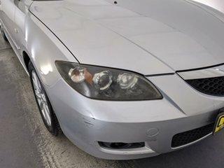 2006 Mazda 3 BK10F2 Maxx Sport Silver 5 Speed Manual Sedan.