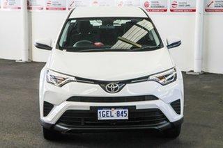 2016 Toyota RAV4 ZSA42R MY17 GX (2WD) Glacier White Continuous Variable Wagon.