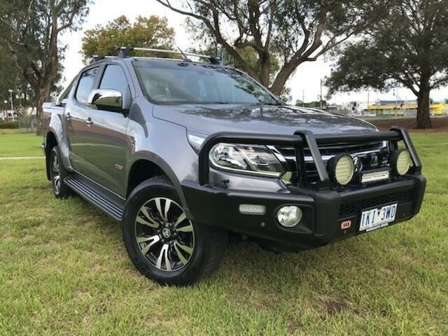 Used Holden Colorado RG MY17 LTZ (4x4) Wangaratta, 2017 Holden Colorado RG MY17 LTZ (4x4) Grey 6 Speed Automatic Crew Cab Pickup