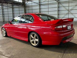 2001 Holden Special Vehicles ClubSport VX II Red 6 Speed Manual Sedan