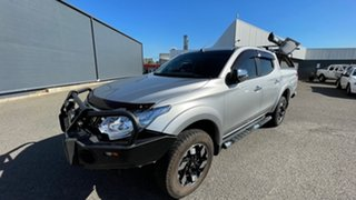 2015 Mitsubishi Triton MQ MY16 GLS Double Cab Sterling Silver 6 Speed Manual Utility