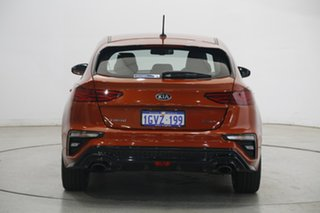 2019 Kia Cerato BD MY20 GT DCT Orange 7 Speed Sports Automatic Dual Clutch Hatchback