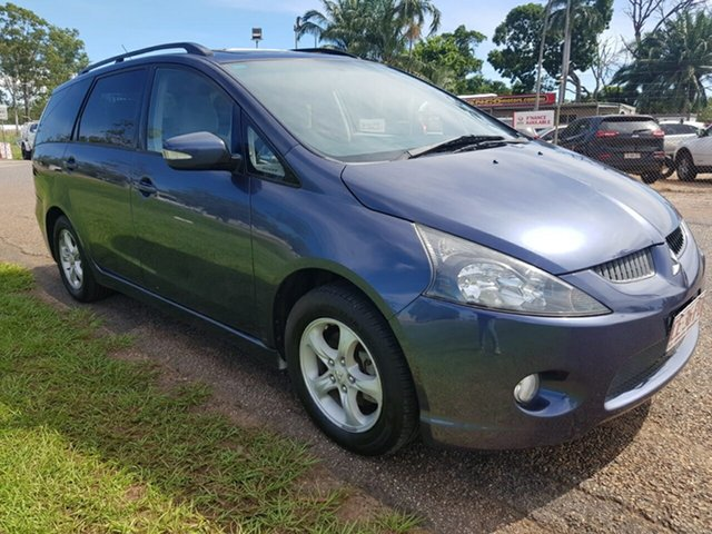 Used Mitsubishi Grandis BA MY06 Luxury Pinelands, 2005 Mitsubishi Grandis BA MY06 Luxury Blue 4 Speed Sports Automatic Wagon